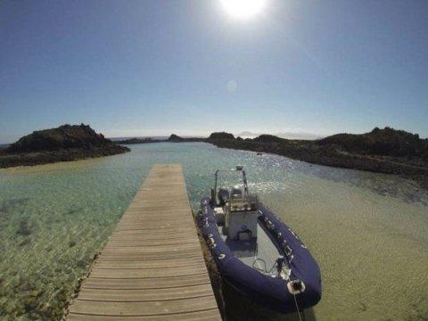 water taxi isla de lobos