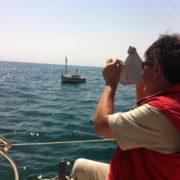 sextante navegando