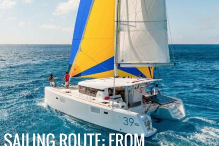 from cartagena to las palmas sailing